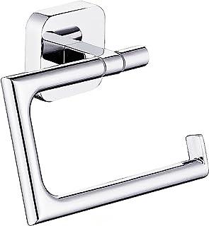 Decaura Toilet Paper Roll Holder Wall Mounted 304 Stainless Steel Bathroom Modern Tissue Towel Rack Chrome