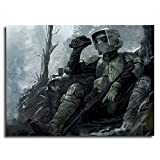 Large Canvas Canvas Art Wall Decor For Living Room Star Wars Clone Soldier Wall Art Canvas Wall Decor Posters 16x12inch