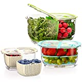 LUXEAR Fresh Produce Vegetable Fruit Storage Containers 3Piece...