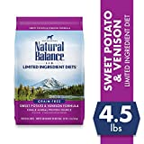 Natural Balance L.I.D. Limited Ingredient Diets Dry Dog Food, Grain...