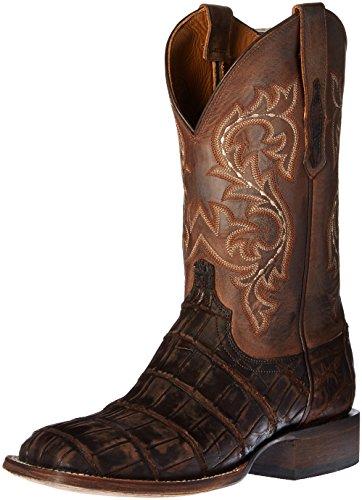 Lucchese Bootmaker Men's Malcom Western Boot, Chocolate, 10 D US