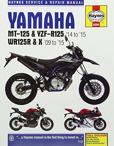 Yamaha MT-125, YZF-R125 & WR125R/X (09 - 15): 2009 - 2015
