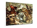weewado Peter Paul Rubens - Tiger- und Leopardjagd 100x75