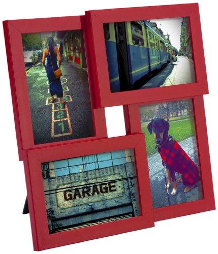 Umbra 317150-505 Pane Multi Cadre Photo Rouge