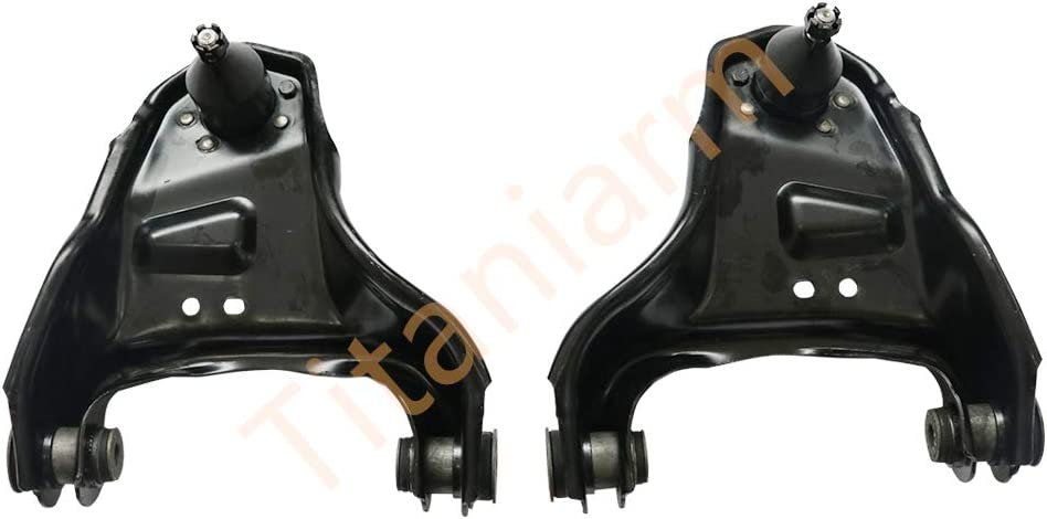 Front Upper Driver & Passenger Side Control Arm and Ball Joint ...