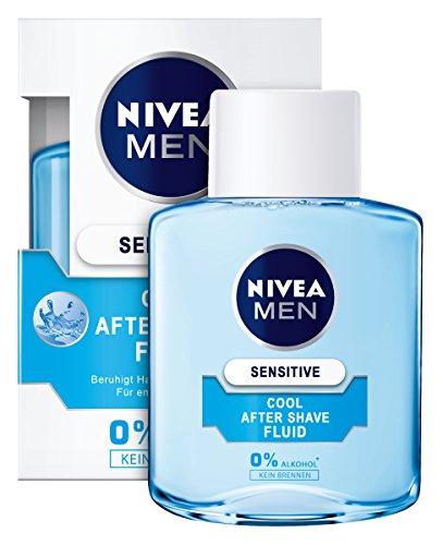 NIVEA Men, 3er Pack After Shave Fluid für Männer, 3 x 100 ml Flasche