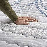 Naturalex | Perfectsleep | Matratze 140x200 cm | Memory und Blue Latex-Technologie Extra Komfort HR | Fester Halt mit Atmungsaktivem Schaumstoff | Ergonomisch Entspannend und Hypoallergen - 6