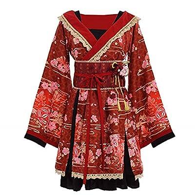 TWO L Women's Cosplay Lolita Fancy Dress Japanese Kimono Anime Costumes