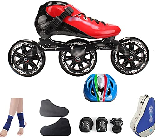 Roller Rouleaux Kates Inline Skates Skates Chaussures de patinage de la fibre de carbone Chaussures de course Chaussures de patinage à rouleaux de Rouleaux Grand Rouleaux à rouleaux Pour les femmes et