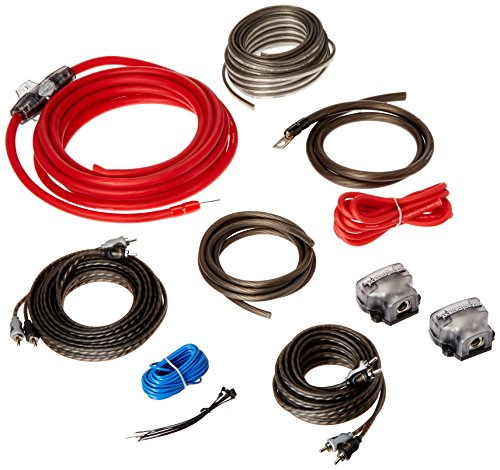 : Rockford Fosgate RFK4D 4 AWG Dual Amplifier Install Kit