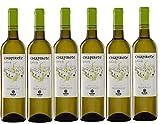 CHAPIRETE SELECCIÓN. Vino Blanco Verdejo con Denominación de Origen Rueda. Un Vino Joven, Lleno de Matices y Realizado con la Mejor Selección de Uva. 100% Verdejo [Caja de 6 Botellas de 750 ml]