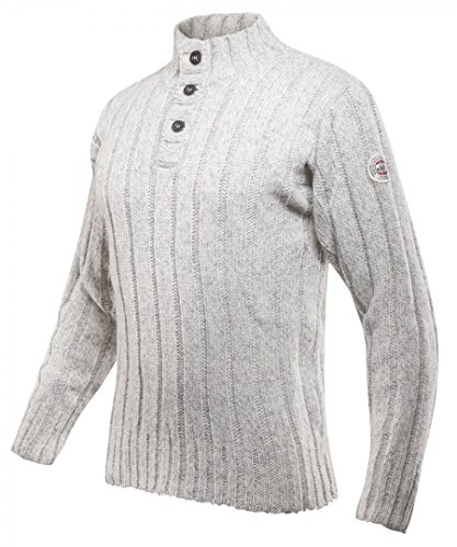 Devold Originals Amundsen Button Neck Pullover Men - Pullover aus Wolle