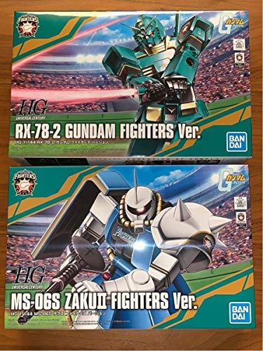 機動戦士ガンダム×日本ハムファイターズ コラボ ガンプラ ガンダム+ザク 2個セット 日ハム 日本ハム