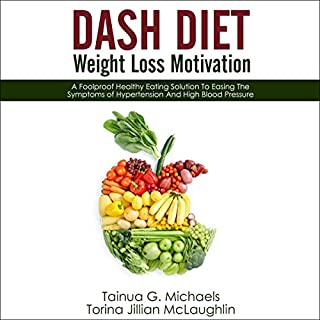 DASH Diet Weight Loss Motivation audiobook cover art