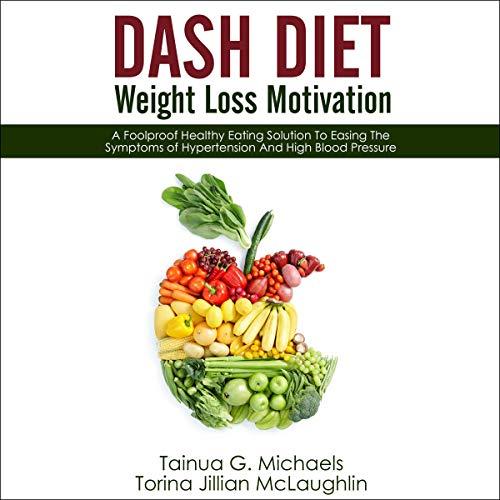 DASH Diet Weight Loss Motivation audiobook cover art