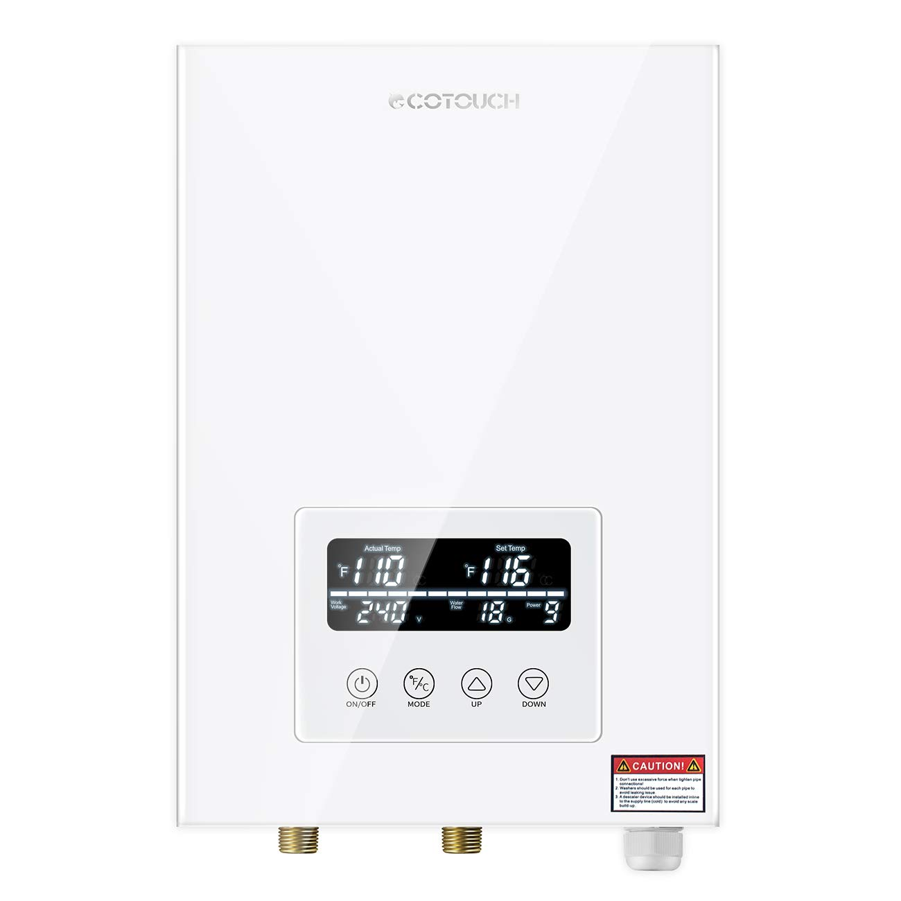 Tankless Electric ECOTOUCH Self Modulating Instant