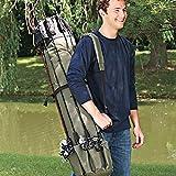 NANAD Angelruten-Koffer Organizer, Angelruten-Träger, Angelruten-Tasche, Aufbewahrung,...