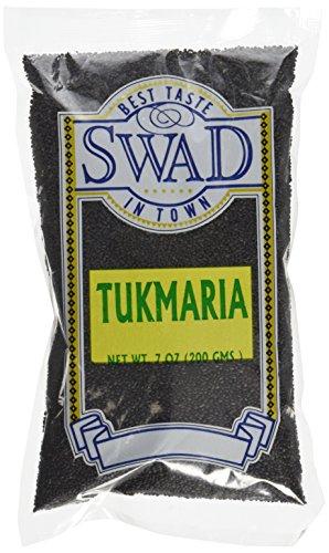 Swad Tukmaria Sacred Basil Seeds, 7 Ounce