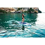 Bestway Hydro-Force Oceana Inflatable SUP Stand Up Paddle Board with Paddle, Carry Bag and Pump