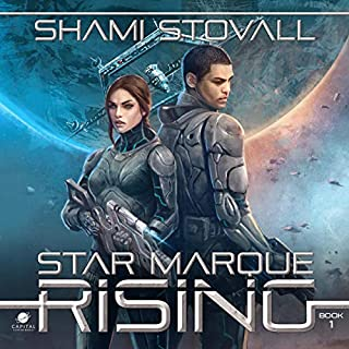 Star Marque Rising audiobook cover art