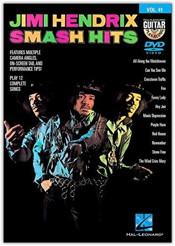 Jimi Hendrix Smash Hits - Guitar Play-Along DVD Volume 41