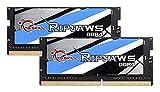 Gskill F4-2400C16D-16GRS Memory SO D4 2400 16GB C16 Rip K2 2X 8GB, 1,2V, Ripjaws