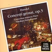 Handel: Concerti Grossi Op 3 by G.F. Handel (2008-03-10)