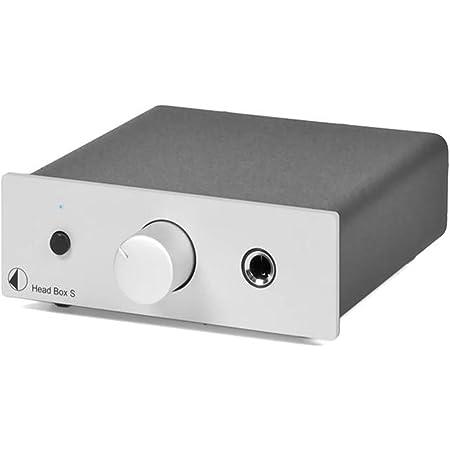 Pro Ject Head Box S Kopfhörerverstärker Silber Audio Hifi