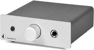 Pro Ject Head Box S Kopfhörerverstärker (Silber)