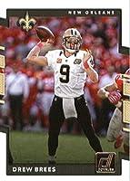 2017 Donruss #200 Drew Brees New Orleans Saints Football Card