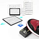Music Page Turner for Tablets - Connected by Bluetooth for Flip Pages from Music Software - Controlled by Foot Switch - IOS and Android System Support