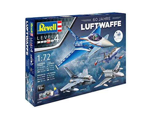 Revell Modellbausatz Flugzeug 1:72 - Geschenkset 60 Jahre