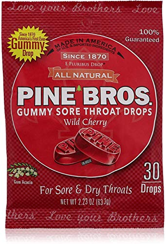 Pine Bros Throat Drops Ch Size 32ct Pine Bros Throat Drops Chrry 32ct