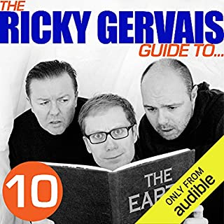 The Ricky Gervais Guide to... THE EARTH cover art