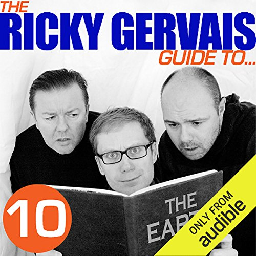 The Ricky Gervais Guide to... THE EARTH audiobook cover art