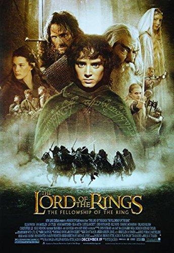 Close Up Póster The Lord of The Rings: The Fellowship of The Ring - Promoción Principal (68cm x 98cm) + 1 póster Sorpresa de Regalo
