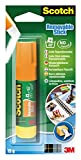 Scotch 3M Colla Stick Removibile, Senza Solventi, 1pz x 19 g...
