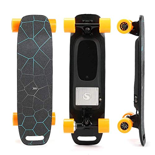 27-Zoll-Smart Wireless Bluetooth-Fernbedienung elektrisches Skateboard, die besten Reise-Kreuzer-Brett for Jungen und Mädchen, Skateboard QIANGQIANG