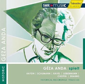 Geza Anda plays Solo Recitals (1950-1955)