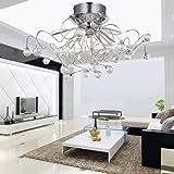 ALFRED Lustre en cristal moderne avec 11 lumières,lustres, plafond moderne Luminaire...