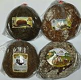 NEW European Bread Sampler #4 {4 Kinds of Gourmet Rye Breads (Ukrainian Rye, Old Kiev Rye, Country Style Ukrainian Rye, & Narochansky Rye)}
