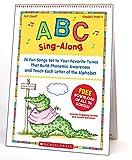 Scholastic Classroom Resources ABC Sing-Along Flip Chart, multicolor (SC978439)