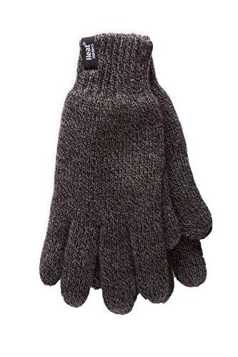 Heatweaver Gants thermiques chauds pour homme 2,3 tog - Gris - Taille Unique