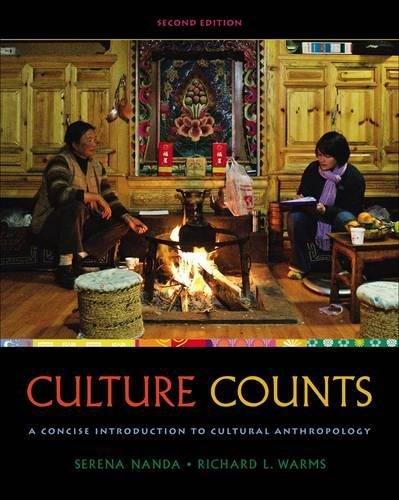 Cengage Advantage Books: Culture Counts: A Concise...