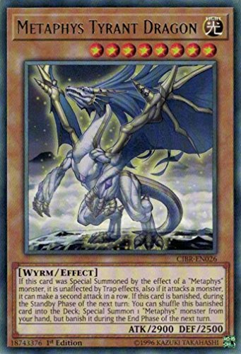 yu-gi-oh Metaphys Tyrant Dragon - CIBR-EN026 - Rare - 1st Edition - Circuit Break (1st Edition)
