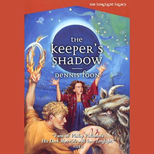 The Keeper's Shadow audiobook cover art