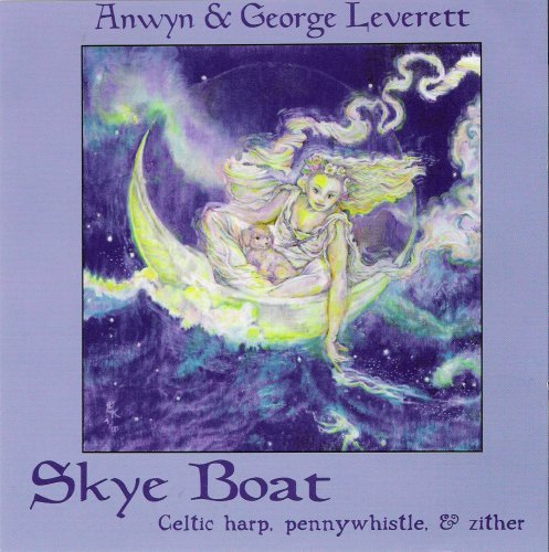 Around The Hearth: Skye Boat...Celtic harp, pennywhistle, & zither by Anwyn & George Leverett (2001-10-20)