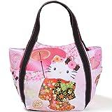 【B8-2】 Hello Kitty ハローキティ 限定 和柄 マザーズバッグ トートバッグ マザーズトートバッグ ■KITTY-WG■ (4068舞桜)