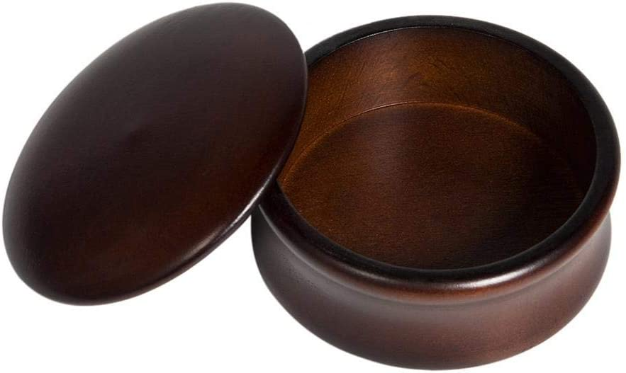 Men's Durable New Free Shipping Shaving Soap Award Bowls With Quality Wooden 3 Lid Bowl