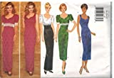 4302 Uncut Butterick Misses Sewing Pattern Semi Fitted Top Dress Evening Size 6 8 10